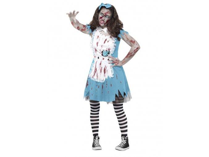 Dámský kostým Zombie Alenka