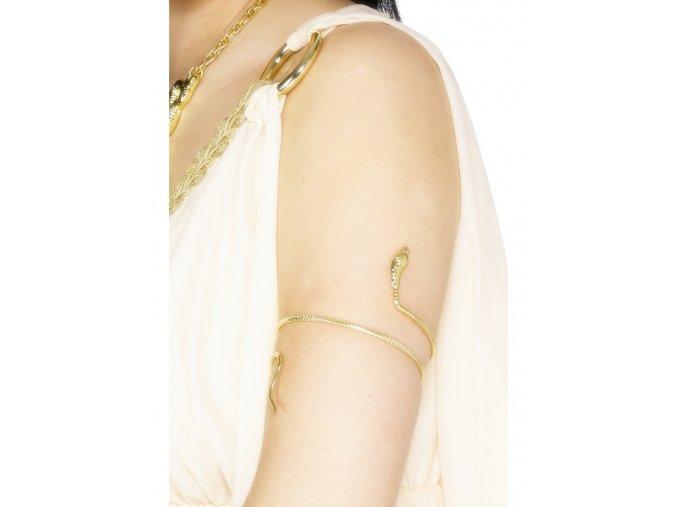 Egyptský náramek Kobra