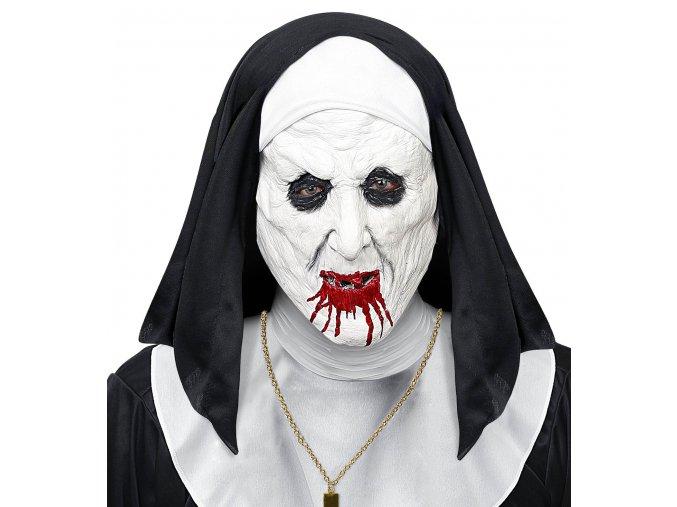 Maska Hororová Jeptiška