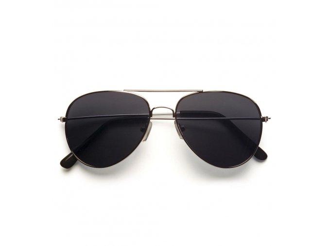Brýle černé Pilotky