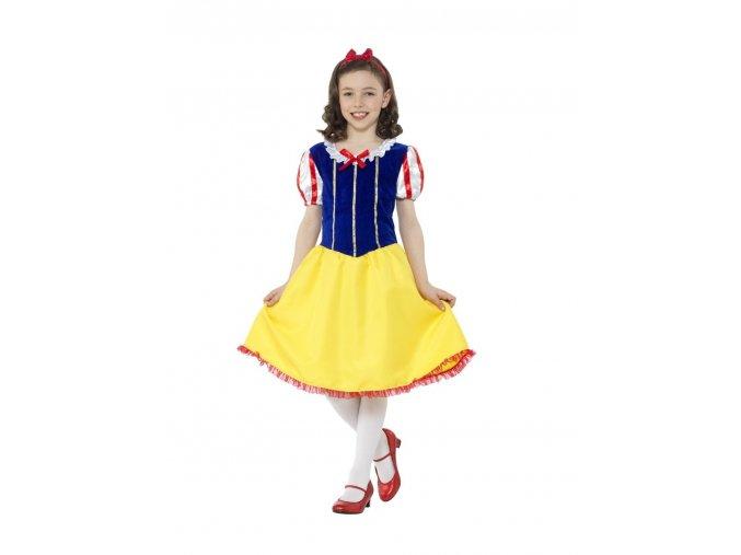 Dětský kostým Sněhurka Deluxe