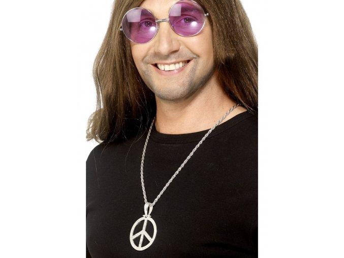 Hippies přívěsek stříbrný