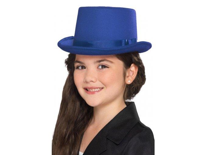 Dětský cylindr modrý