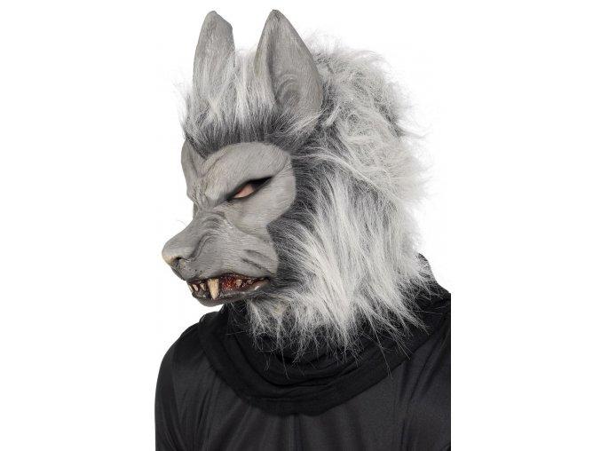 Maska Vlk/Vlkodlak chlupatá