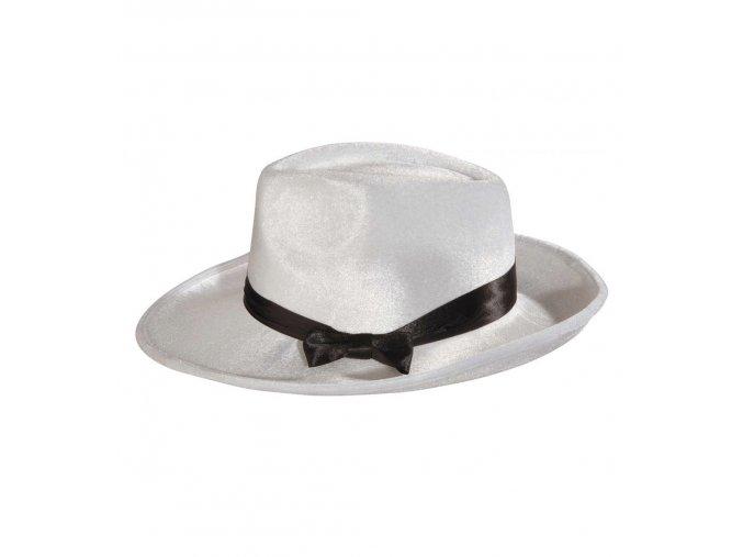 Bílý klobouk Mafián
