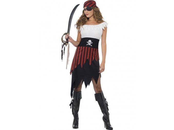 Dámský kostým Pirátka