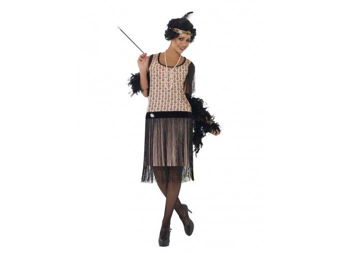 Flapper kostým Coco Chanel 20.léta
