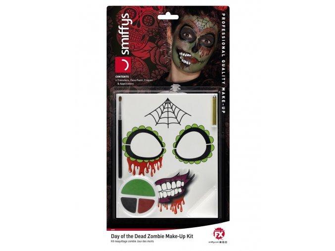 Make-up sada Sugar Skull Zombie