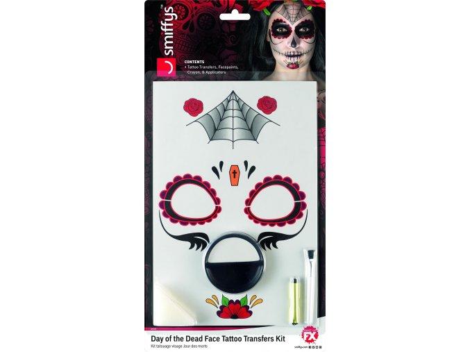 Make-up sada Sugar Skull Pavučina