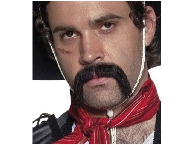 Knír Western mexičan