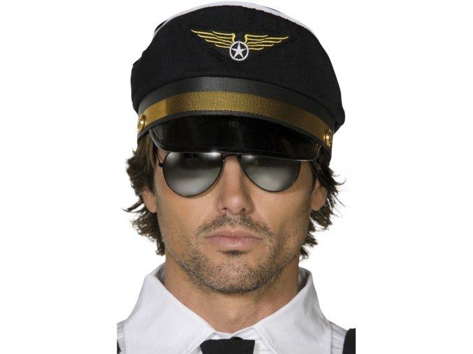Čepice Pilot černá