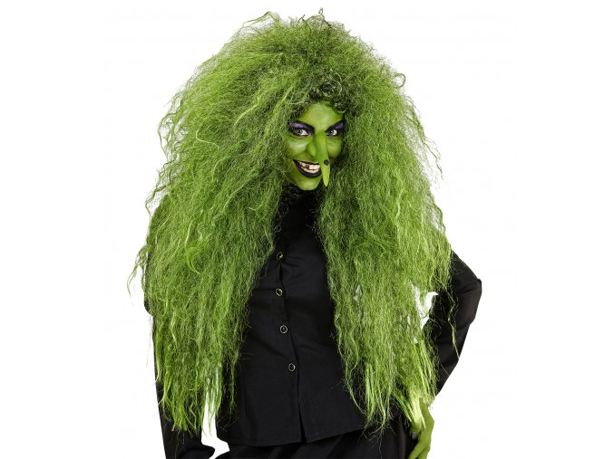 Zelená paruka Čarodějnice