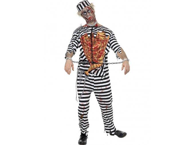 Halloween kostým zombie Vězeň