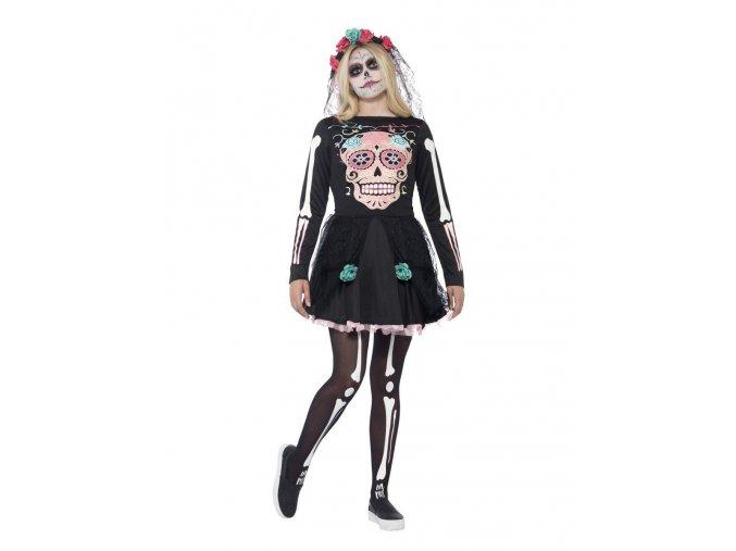 Dámský kostým Sugar Skull