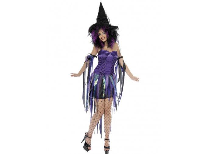 Dámský kostým Půvabná čarodějka
