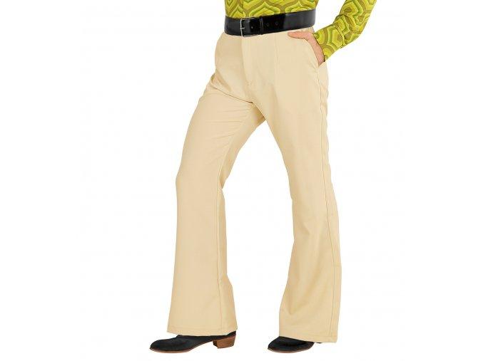 Pánské Disco kalhoty béžové