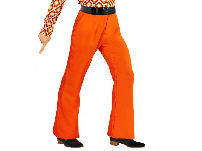Pánské Disco kalhoty oranžové