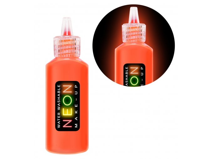 UV make-up neon oranžový