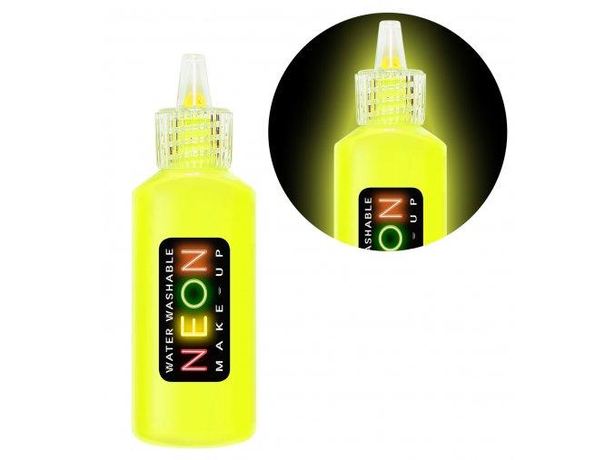 UV make-up neon žlutý