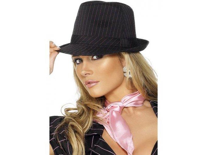Dámský klobouk gangsterka
