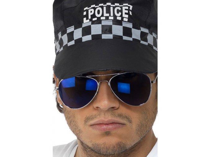 Brýle Policista/Pilot modré