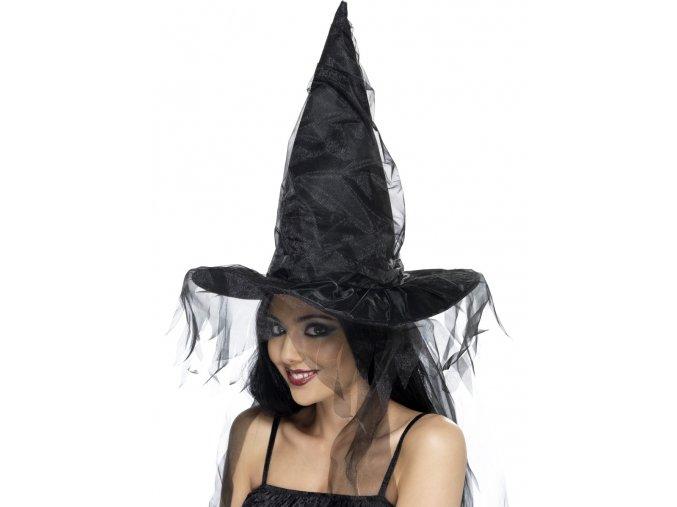 Čarodějnický klobouk se síťkou