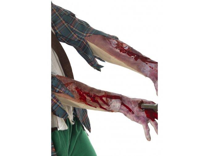 Rukáv se zraněním