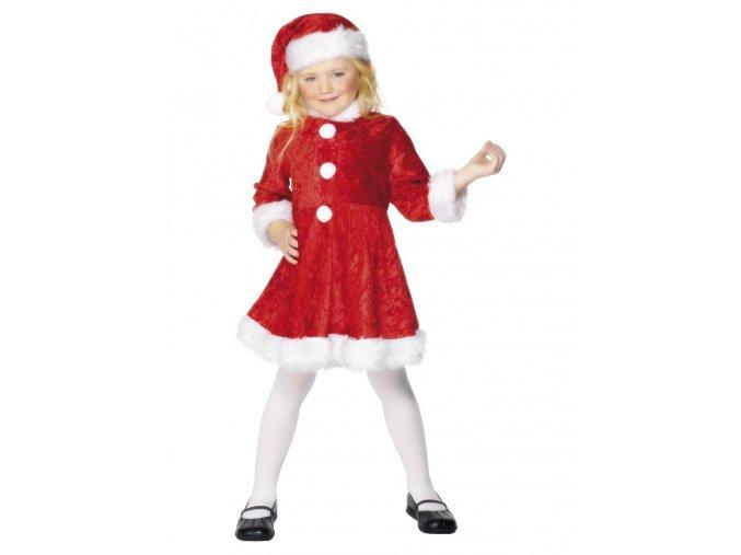 Dětský kostým Santová