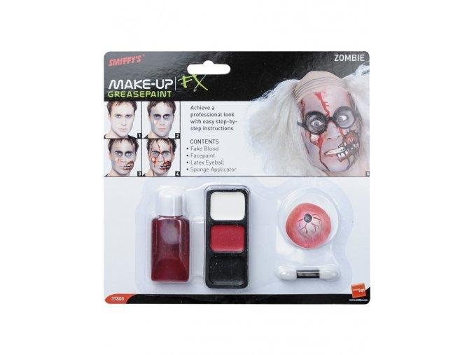 Sada Zombie make-up s okem