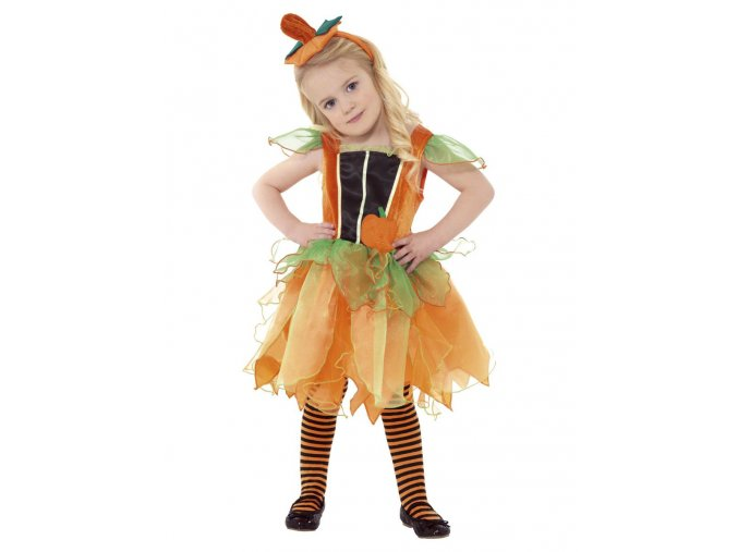Dětské šaty Dýně
