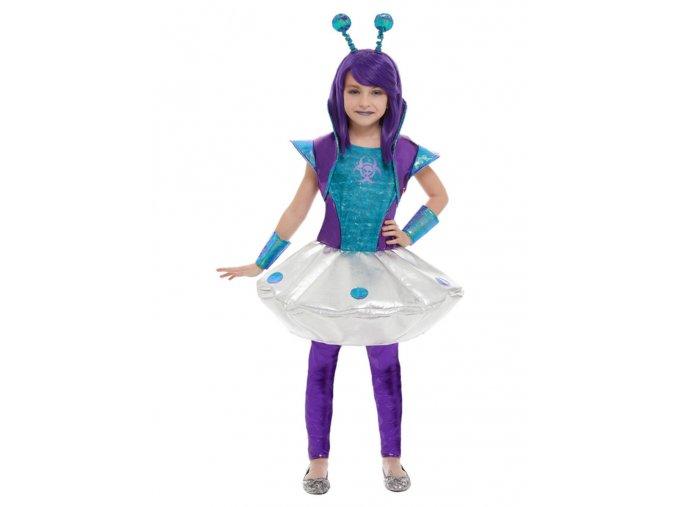 Dětský kostým Mimozemšťanka