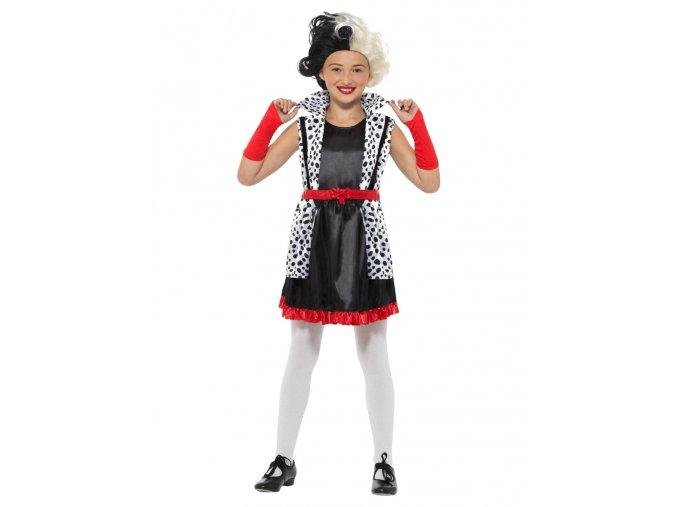 Dětský kostým Cruella de Vil
