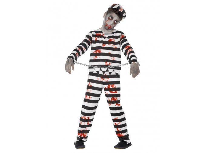 Dětský kostým zombie Vězeň