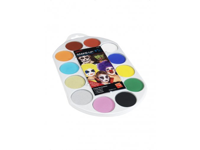 Velká paleta Barvy na obličej (12 barev)