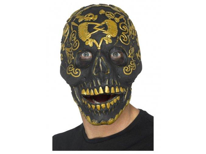 Maska lebka deluxe
