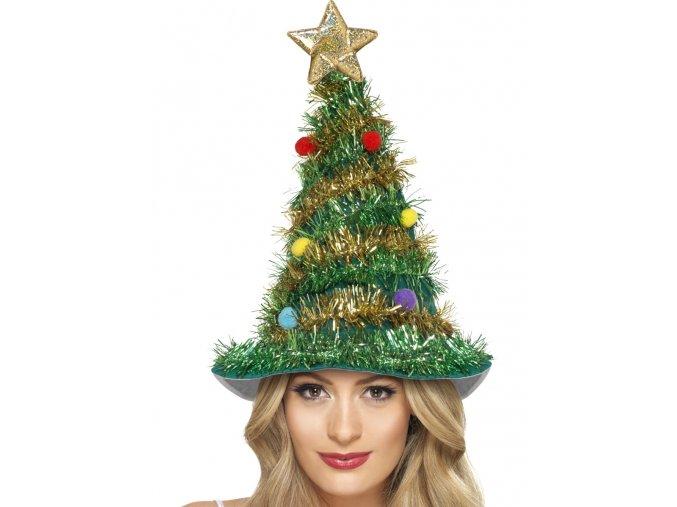 Čepice Vánoční stromeček