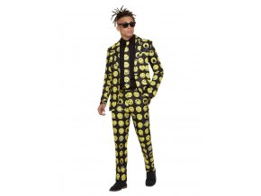 Pánský kostým Oblek smajlík