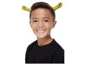 Čelenka uši Shrek
