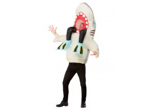 Kostým Žralok s potápěčem
