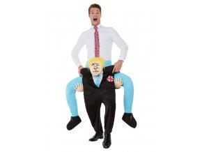 Kostým jízda na zádech Boris Johnson