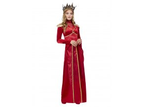 Dámský kostým červená Královna