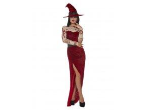 Dámský kostým ďábelská čarodějka