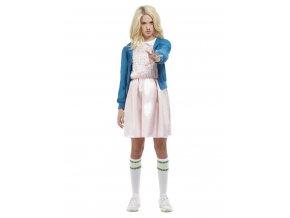 Dámský kostým podivná holka 80. léta