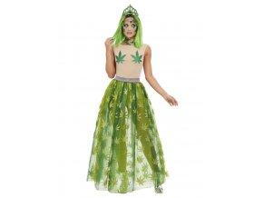Dámský kostým konopná královna