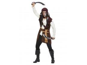 Pánský kostým temný duch piráta