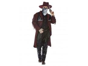 Pánský kostým temný duch kovboje Deluxe