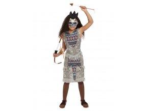Dětský kostým Duch domorodkyně