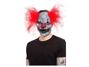 Latexová maska Temný klaun