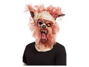Latexová maska Vlkodlak mumie