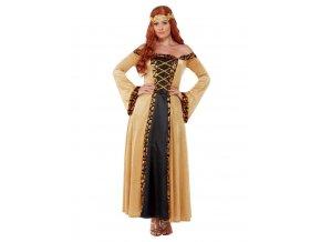 Dámský středověký kostým Hraběnka